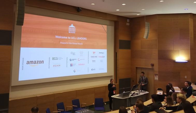 Konferencja UCL Leaders: Poland in a Global World