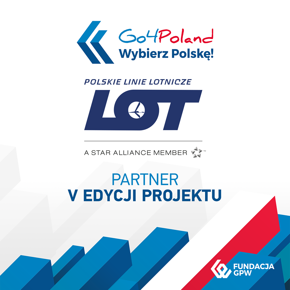 Partnerem Programu ponownie zostaje LOT Polish Airlines!